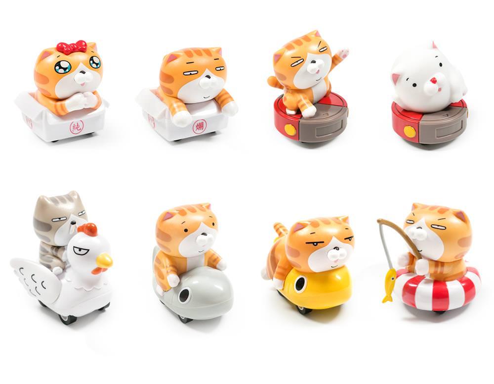 白爛貓迴力車8