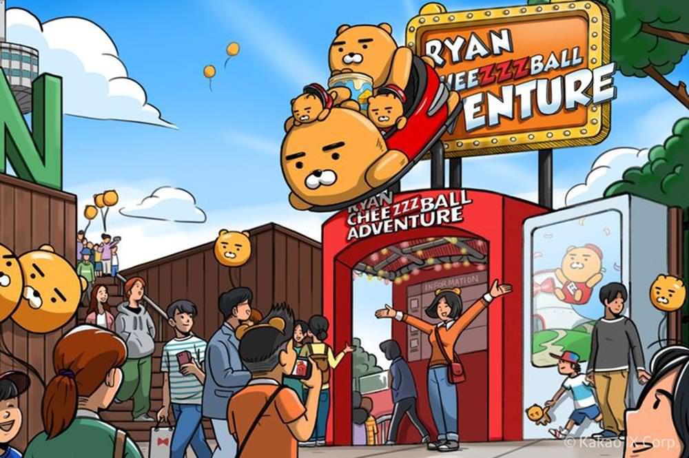 全球第一座【Kakao Friends VR 樂園】首爾打卡新熱點,與Ryan近距離接觸! - threeonelee.com