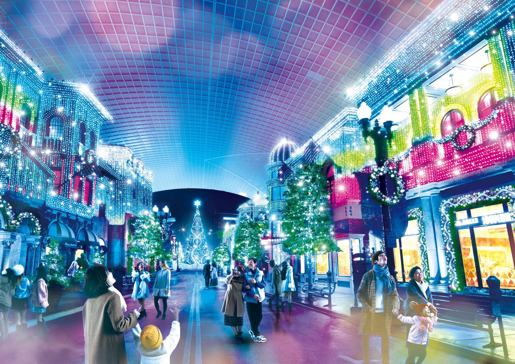 【冬季限定】2021日本大阪環球影城水晶聖誕特別活動 - threeonelee.com