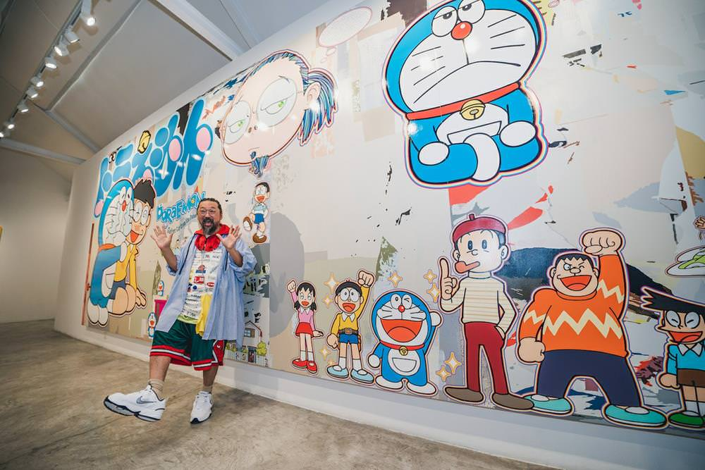 【村上隆X哆啦A夢】Superflat Doraemon「超扁平」個展,東京首波登場! - threeonelee.com