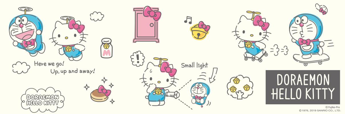【哆啦A夢 x Hello Kitty】DORAEMON HELLO KITTY 聯名商品日本開賣 - threeonelee.com
