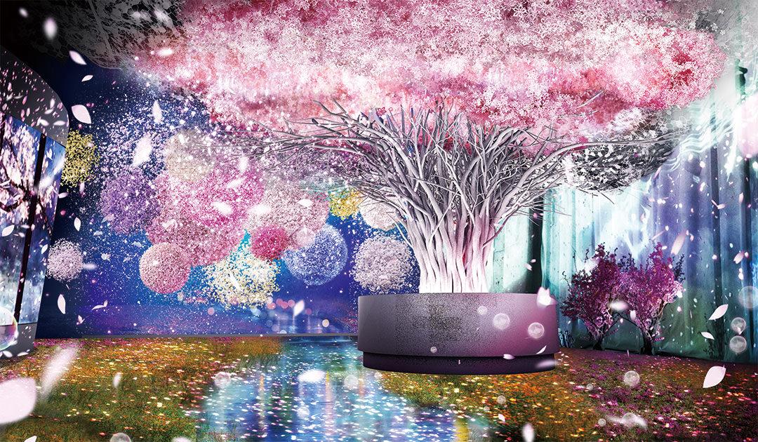 東京「FLOWERS BY NAKED 光雕秀」 ,比 TeamLab 還浪漫的賞櫻聖地! - threeonelee.com