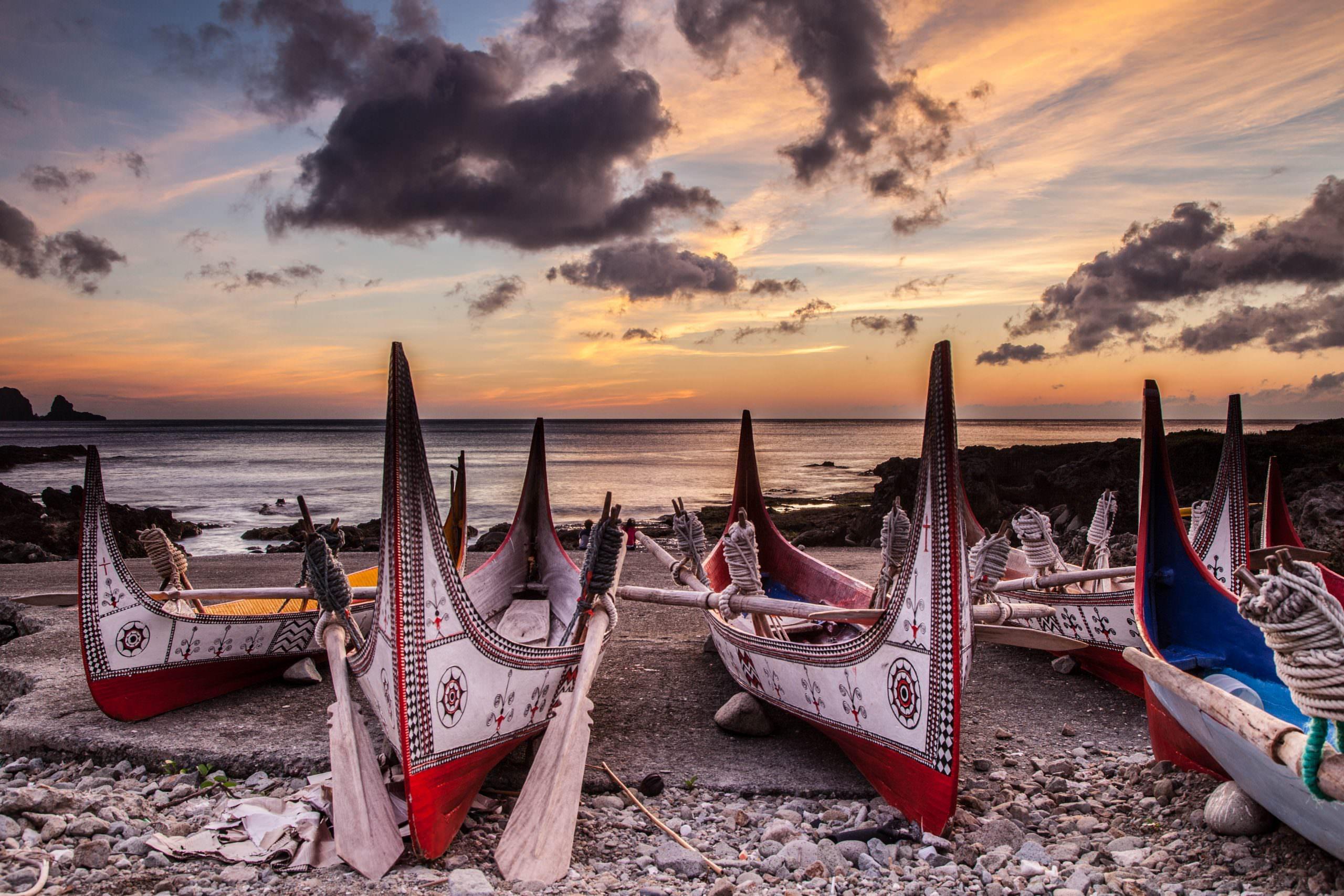 拼板舟,蘭嶼景點,蘭嶼自由行,蘭嶼飛魚祭,蘭嶼飛魚季