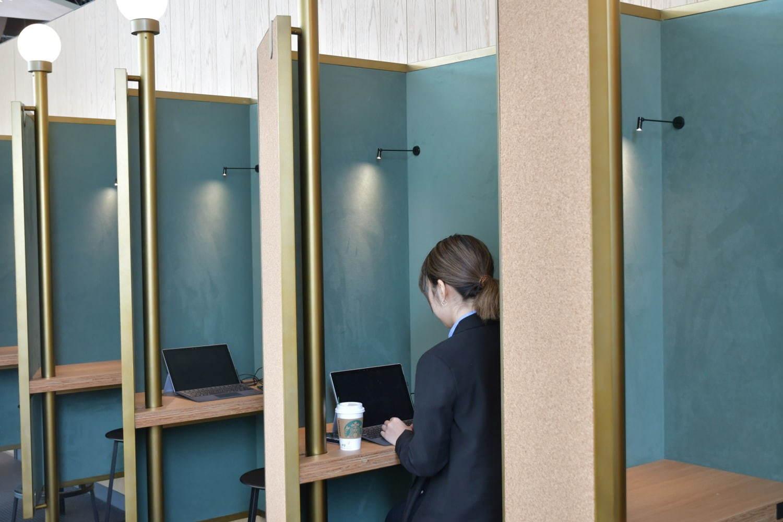 日本首家星巴克辦公咖啡廳!SMART LOUNGE 享窗邊座位、獨立隱私包廂 - threeonelee.com
