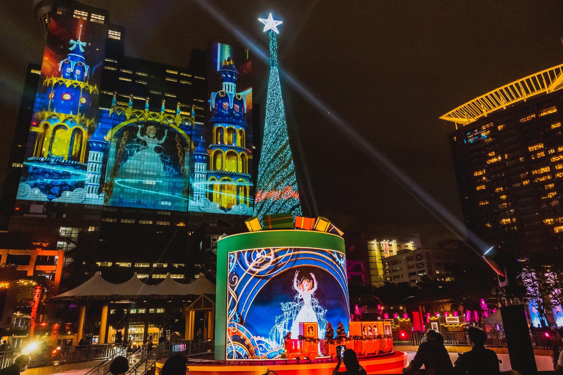 【2020新北歡樂耶誕城】迪士尼展區、時間、交通、演唱會、板橋車站住宿 - threeonelee.com