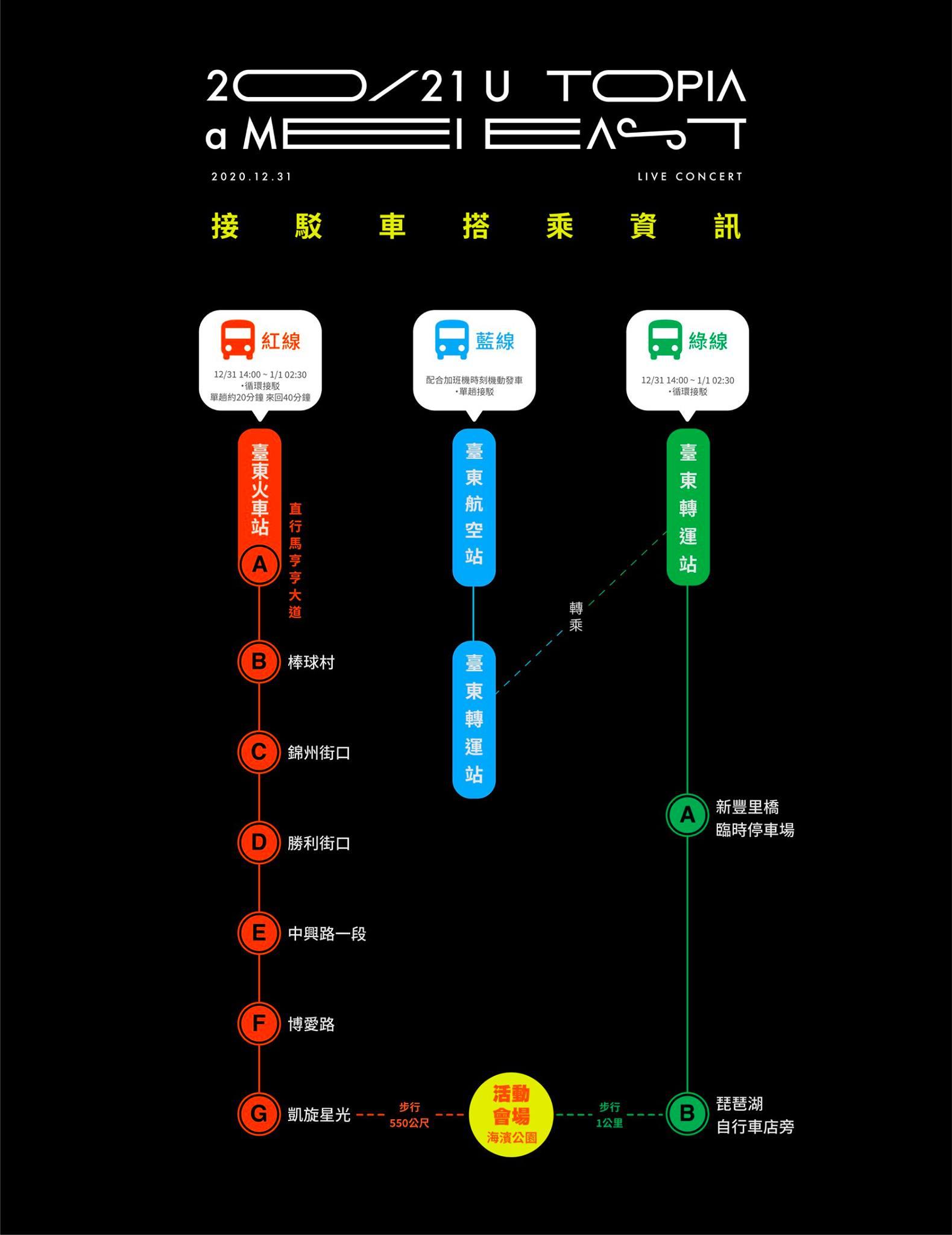 【2021台東縣阿妹跨年演唱會】節目表、交通接駁、實聯制、周邊商品攻略 - threeonelee.com