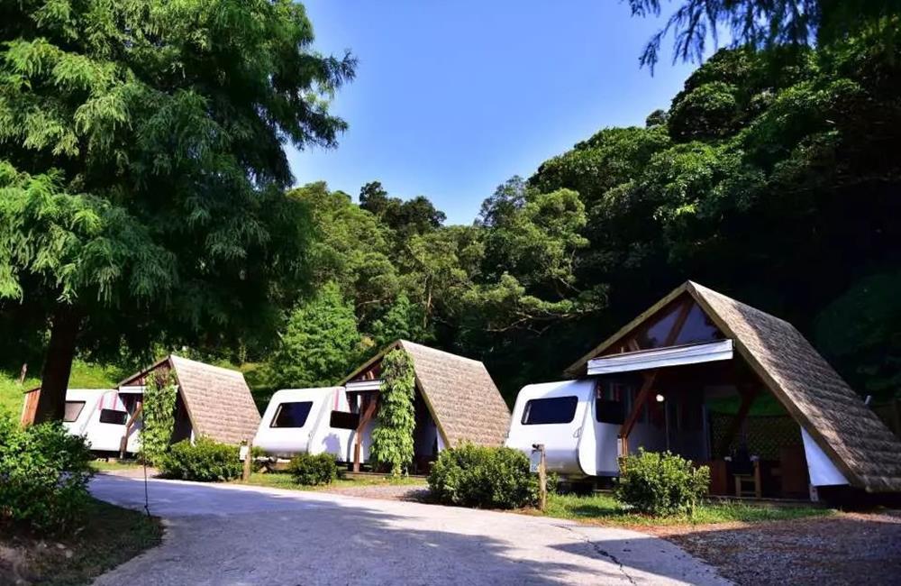 露營推薦 金山皇后鎮森林 風車House