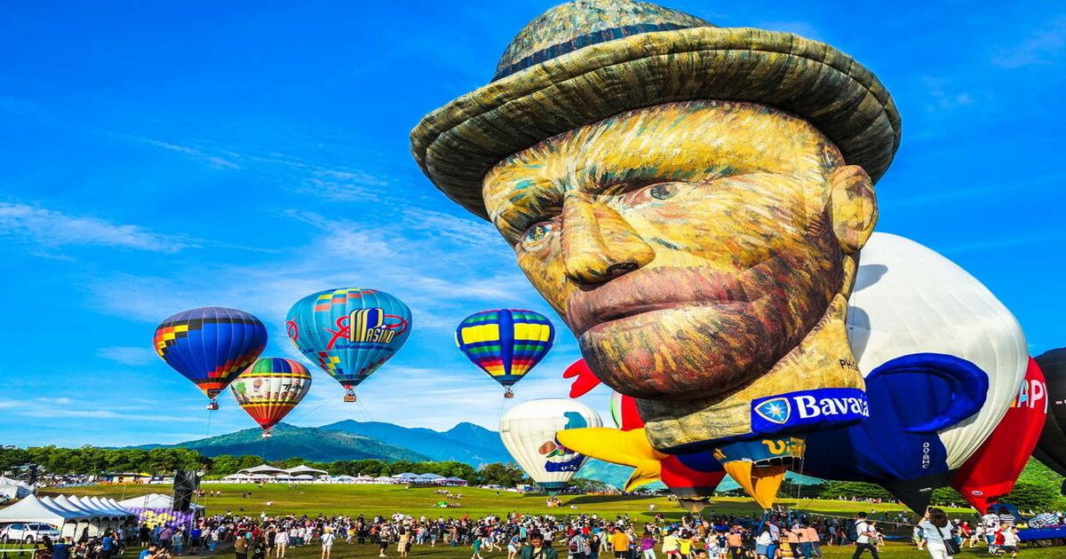 台灣熱氣球嘉年華,台東熱氣球,台東鹿野住宿民宿,台東親子飯店