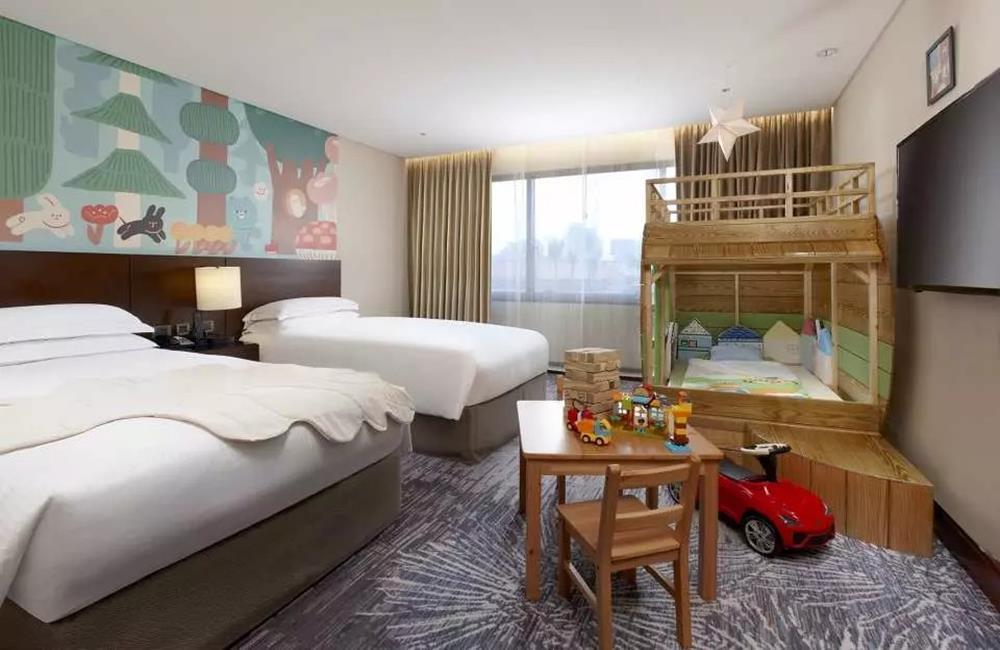 台北喜來登大飯店,親子主題客房,喜來登,米其林住宿指南