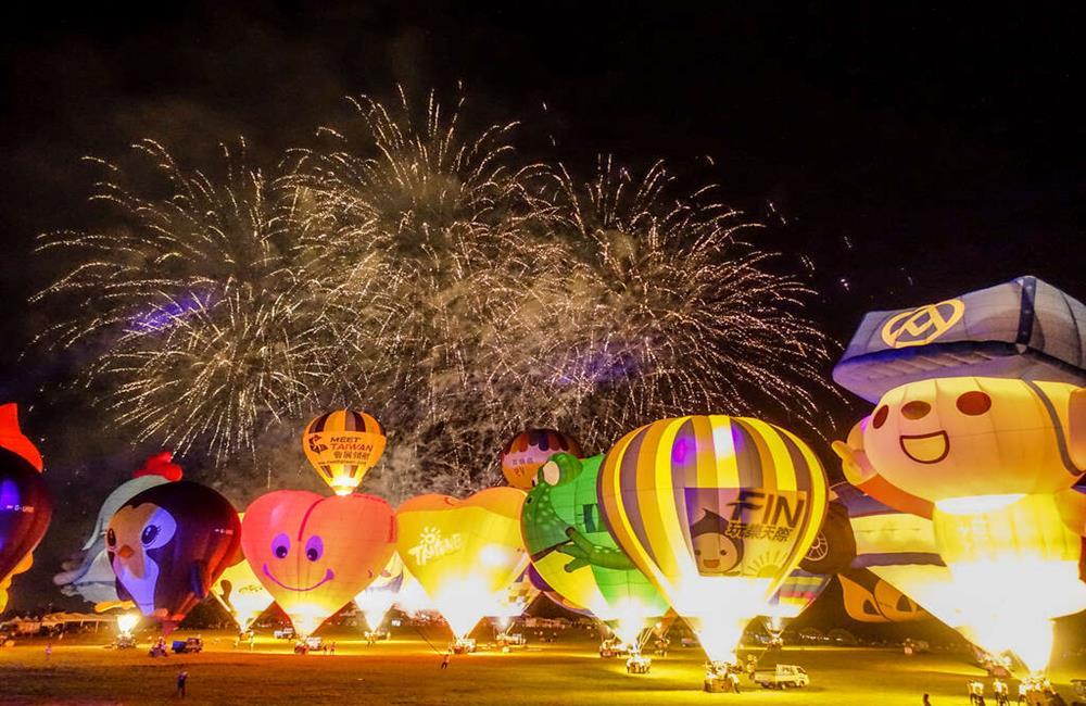台灣熱氣球嘉年華,台東熱氣球,鹿野高台,台東住宿,台東鹿野民宿,台東親子飯店