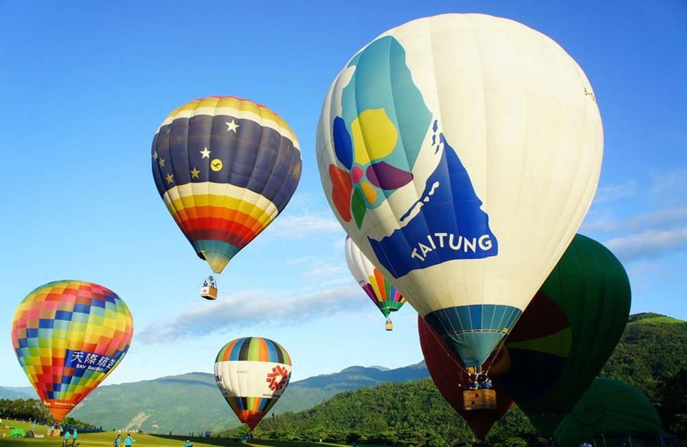 台灣熱氣球嘉年華,台東熱氣球,鹿野高台