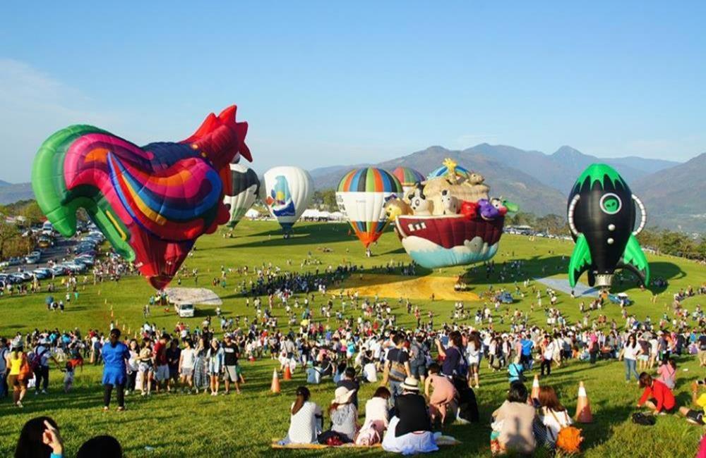 台東熱氣球,台東行程