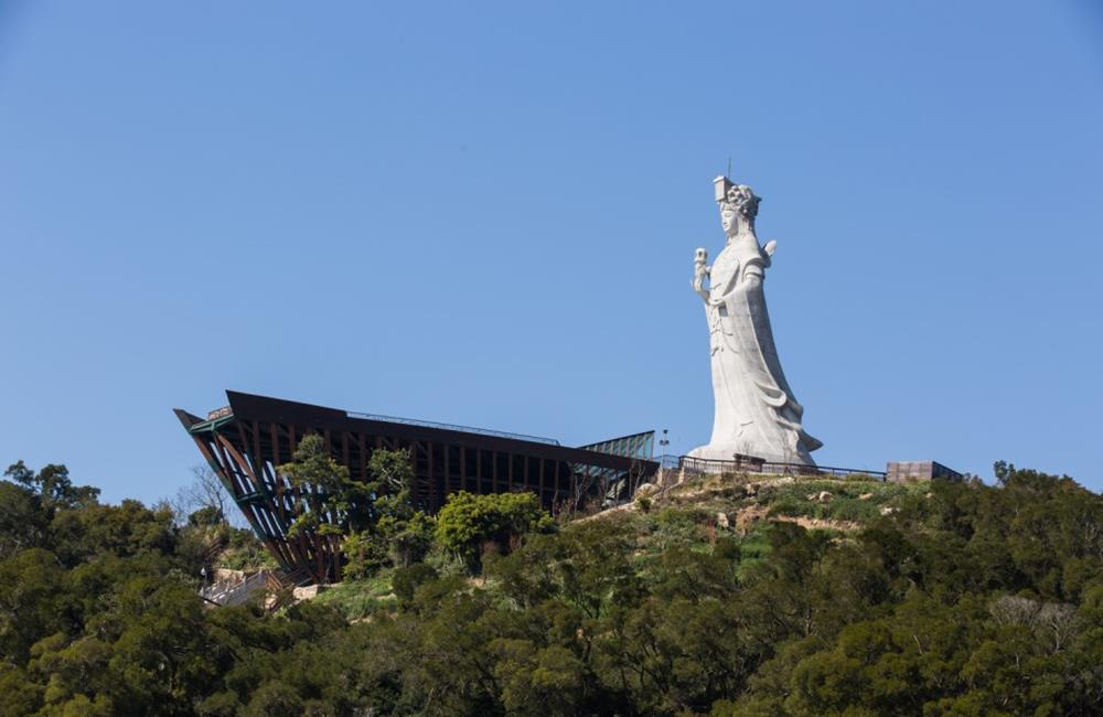 媽祖巨神像,南竿景點