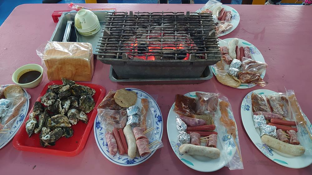 澎湖海洋牧場,澎湖海上BBQ,花火節