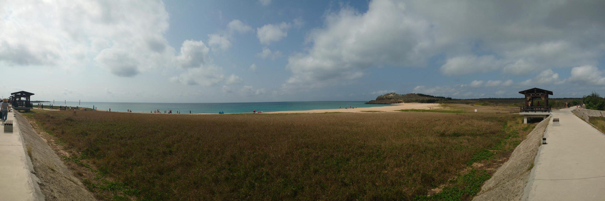 澎湖山水沙灘,澎湖網美景點,山水沙灘