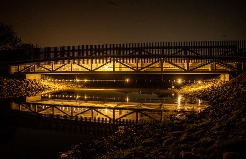 月津港燈節,台南月津港燈節 2021,台南,台南鹽水,月津港親水公園,月之美術館
