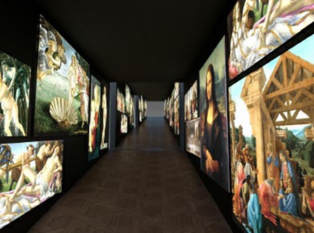 會動的文藝復興,文藝復興,世界文化遺產,百花大教堂穹頂 濕壁畫,會動的文藝復興門票