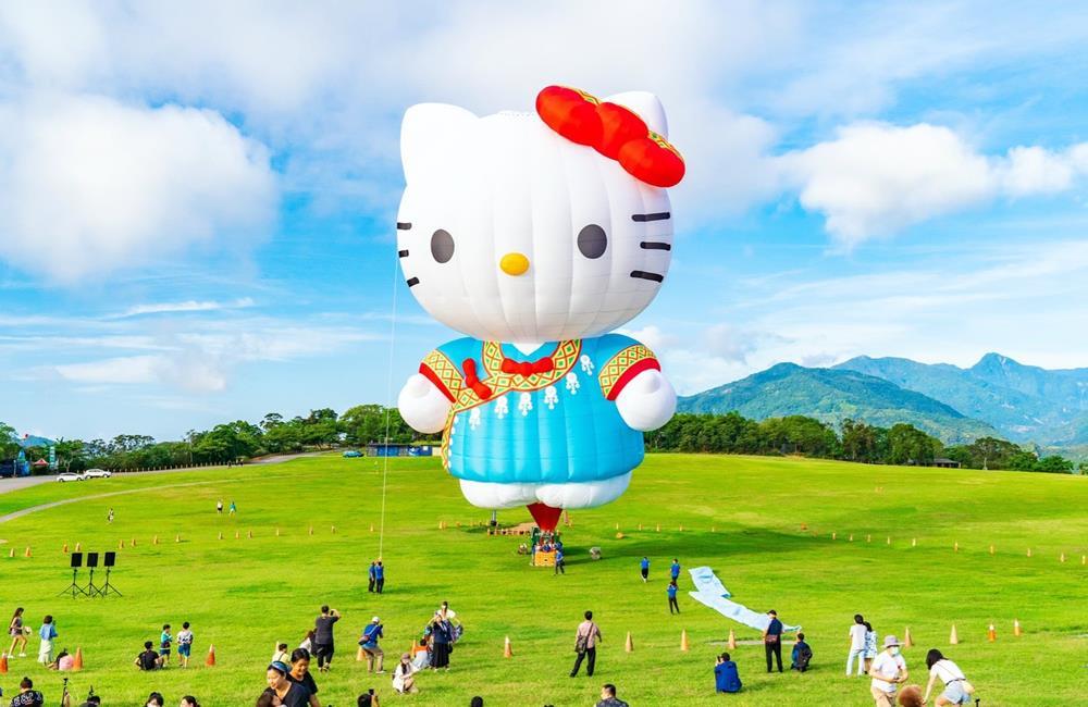 熱氣球,台東熱氣球,鹿野高台,臺灣熱氣球嘉年華-Taiwan Balloon Festival,Hello Kitty熱氣球