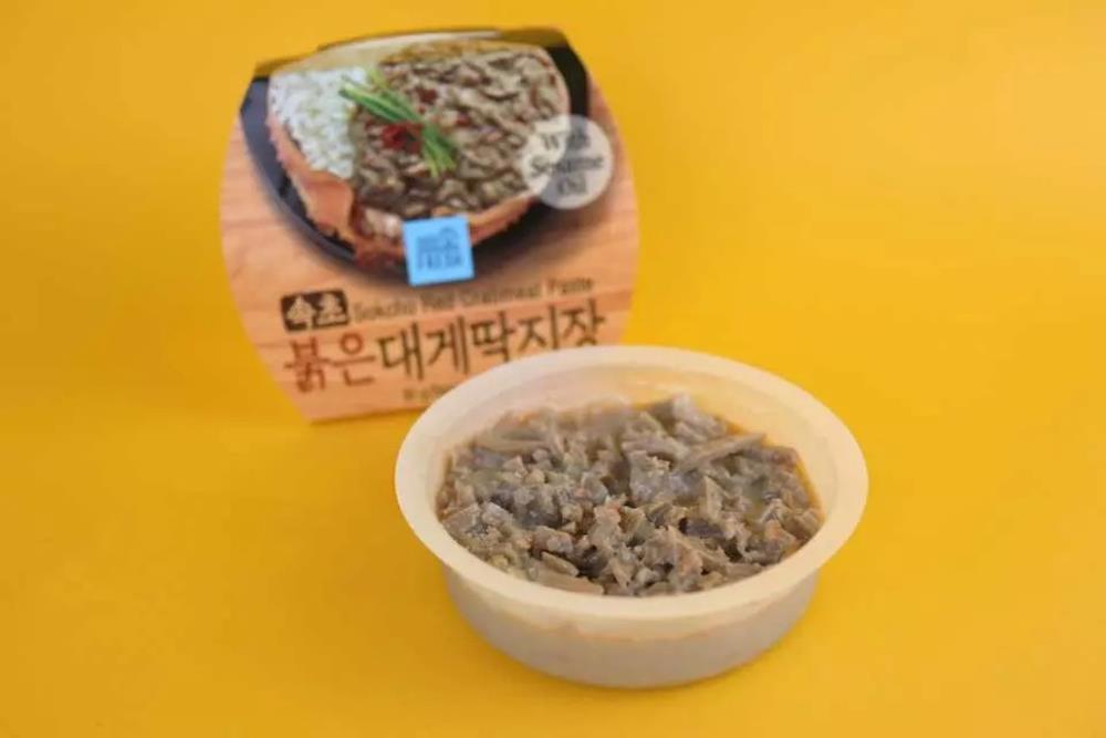 韓國GS25,韓國便利商店 GS25,偷飯賊,松葉蟹膏,蟹膏,辣味雪蟹蟹膏,辣醃章魚,醃明太魚卵,醃章魚,明太魚卵,醃章魚醬