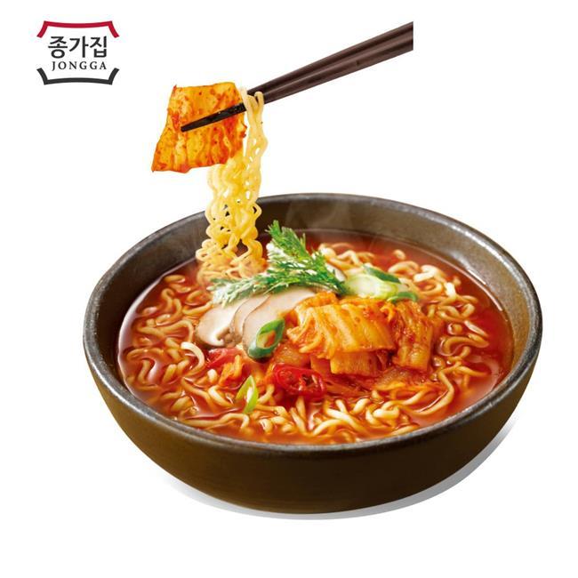 韓國泡菜麵,泡菜麵,宗家府,泡菜,韓國泡麵,韓國宗家府火辣泡菜麵
