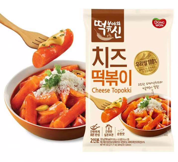韓國東遠DONGWON,8分鐘即食年糕,韓國年糕,DONGWON年糕,辣炒年糕泡麵,炸醬年糕泡麵,起司辣炒年糕,辣炒年糕