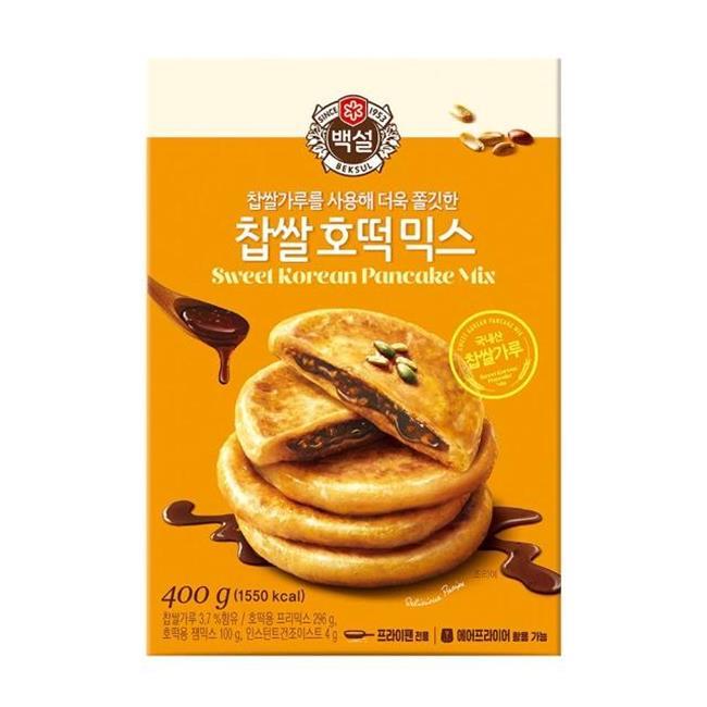 韓國糖餅,糖餅,韓國傳統街頭小吃,CJ,韓國甜點,韓國糖餅料理包,韓式糖餅預拌粉