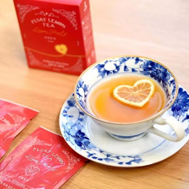 心型檸檬茶包,日本山口縣,心型檸檬紅茶茶包組,日本光浦釀造,日本光浦釀造,FLOAT LEMON TEA,心型檸檬紅茶