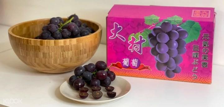 巨峰葡萄,彰化大村,彰化大村巨峰葡萄,水果箱,水果 宅配,葡萄 宅配