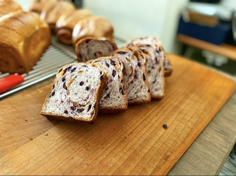 100pain麵包製作室,野生藍莓百香果吐司,台中天團全明星備戰糧包,台中美食