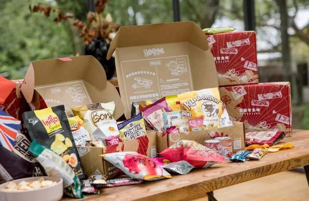 日本零食箱,環遊世界零食箱,肉桂捲,防疫零食箱,卡滋爆米花