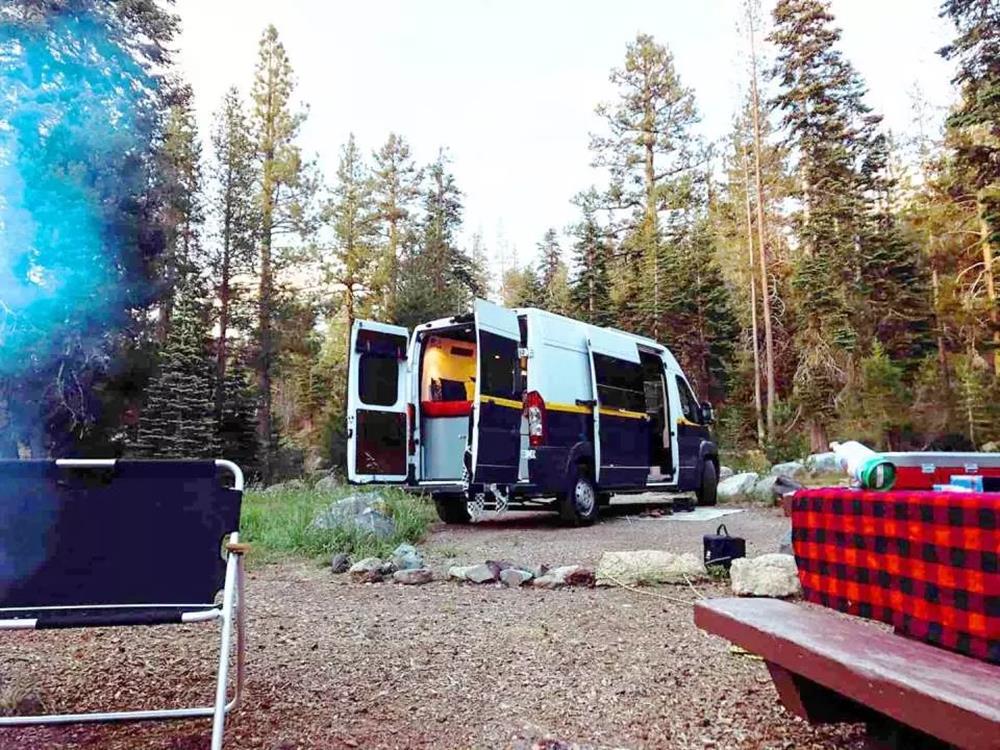 旅森山,露營車,露營車自駕遊,輕旅露營車,福斯T5露營車,KLOOK 露營,自駕露營車